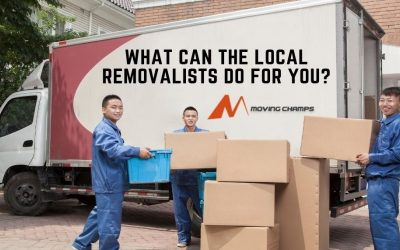 What Can The Local Removalists Do For You?